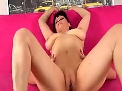 Big titted mature Mary