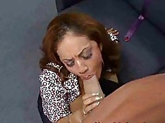 Mature brunette gets blindfolded in car and lead to a fuckin...
