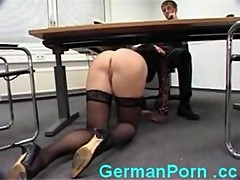 Housewife sexually exploited in the office