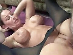 Buxom Leeanna getting dicked in her hot pussy
