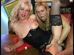Kinky Mature 4some