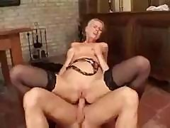 German Porn With The Blonde Boss Lady Getting A Big Cock To Fuck