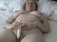 Huge Bobbie Mama's Self Amusement