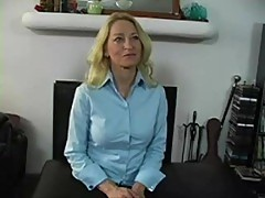 Mature gets her butt spanked