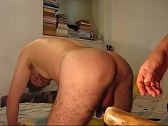 Destroying of male whore from merciless Mistress by Extreme hard fucking