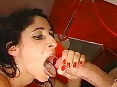 Cum Swallowing MILFs Get Milk