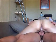 Booty cheating milf riding cock on homemade sex tape