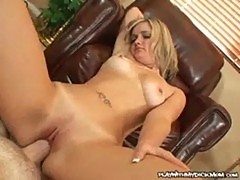 Katie may - lovely mom takes a stiff cock