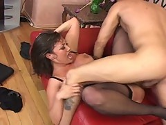 Sexy Asian Whore Crazy Over Awesome White Cock