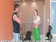 War Machine Gives Milf Avy Scott a Workout