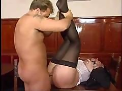 70 Yo Mature Lady Is Enjoying A Young Cock As She Gets Fucked