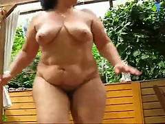 No Sound: Cornelia Chubby mature workout