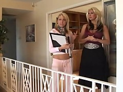 Girls in Love - MILF seduces a Young Blonde
