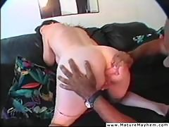 Mature slut geting brutally anal fucked