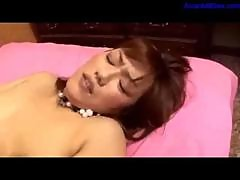 Milf Getting Her Hairy Pussy Fucked By Guy Creampie On The Bed1