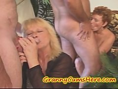 Swinging GRANNIES, Cream pie eating and a few YOUNG GIRLS
