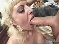 Milf face slapped and throat fucked like a good whore
