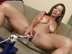 Samanthas Sexton Tit Fuck Machine
