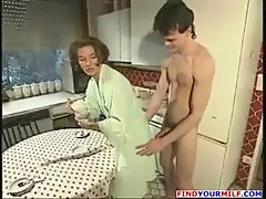 Horny guy fuck his aunt