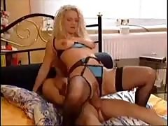 Young Delivery Boy Gets To Drill A Mature German Blonde For His Tip