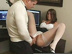 Pantyhose at work part 2of 3 TifanyPreston