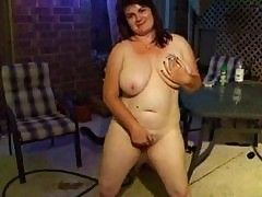 Piss; chubby pee and spread pussy