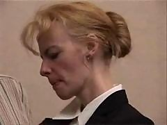 mature blonde slut punished hard