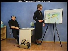 Russian Granny Teacher And Her Student mature mature porn granny old cumshots cumshot