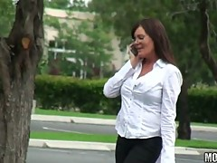 Teacher MILF caught on voyeur camera