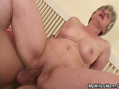 She fucks a younger dude