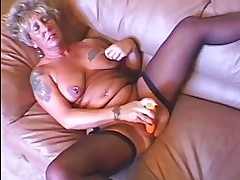 Tattooed MILF Rides Like An 18 Year Old