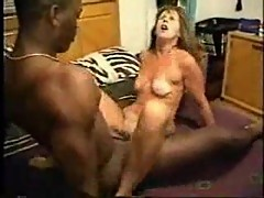Black dude pleasing mature hoe