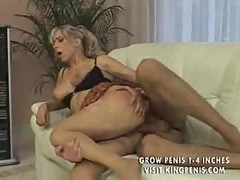 Hot german mature gets straight and anal part2
