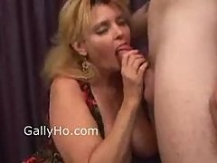 Mature BBW Fucked In The Pussy And Ass