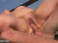 Hot milf getting her dose of fresh cock