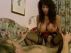 Brunette Huge Titted MILF Hardcore