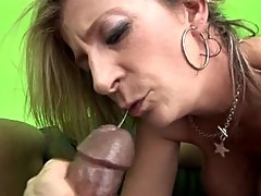Hot sexy white MILF Sara Jay pleases a hot black man with her pussy