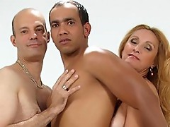 MILF Hot Bisexual Trio