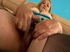 Hairy Blonde Mom love fuck bbc