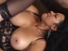 Brazillian Milf Does Anal With Big Dick Boy