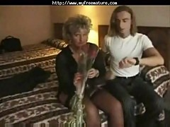 Granny English Threesome mature mature porn granny old cumshots cumshot