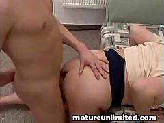 Giant Mature Momm Gets Fuck In Ass