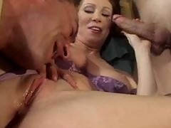Horny Milf drilled in every hole!