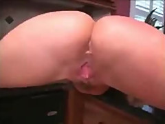 Interracial Kitchen Creampie from Canada