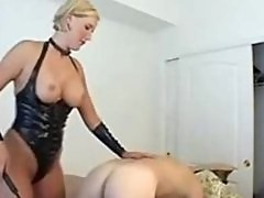 Dirty Des milf amateur wife as kinky dominatrix mom