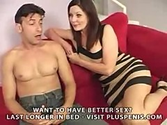 Lesbian Mom Cries When Fucked By A Big Cock Part1