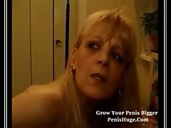 Mature Blonde French Slapper
