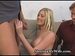 Hot Honey Swallows Hot Cum