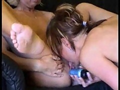 Euro lesbos at home