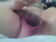 Gaping, fisting, bottle mature on cam